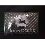 plaque vintage john deere