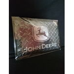 plaque rétro john deere