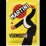 plaque métal martini vermouth