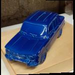 tirelire R8 bleu