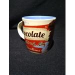 mug rétro chocolat vintage