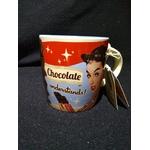mug vintage chocolat café