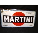 plaque martini racing