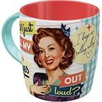 mug rétro vintage