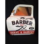 portière miroir barber shop