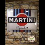 plaque publicitaire martini 30x40