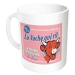 mug tasse céramique rose la vache qui rit