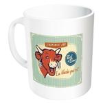 mug tasse céramique la vache qui rit rétro