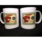 mug céramique vintage la vache qui rit