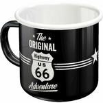 mug émaillé route 66