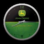 horloge murale vintage john deere logo vert et noir