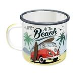 tasse-en-email-nostalgic-art-volkswagen-life-at-the-beach