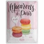Nostalgic-Art-Plaque-Decorative-23221-Home-and-Country-Macarons-30-x-40-cm
