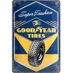 plaque goodyear publicité pneus