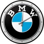 horloge murale bmw logo