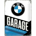 plaque bmw garage