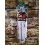 thermomètre tiki bar