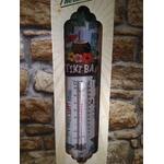 thermomètre métal tiki bar