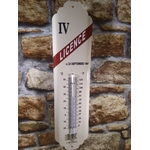 thermomètre licence 4