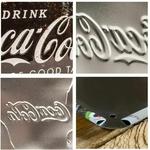 plaque coca-cola collage vintage