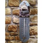 thermomètre peugeot 403 vintage rétro
