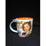 mug tasse céramique vintage