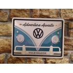 plaque métal volkswagen adventure