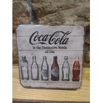 sous bock publicitaire coca cola