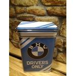 boite métal alimentaire bmw driver only