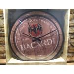 horloge publicitaire vintage bacardi