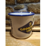 tasse mug émaillé publicitaire goodyear