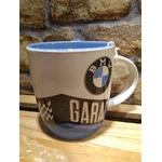 mug tasse céramique bmw garage