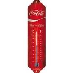 coca-cola thermomètre rouge vintage
