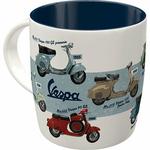 mug vintage vespa scooter