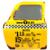 Porte-metal-taxi-jaune