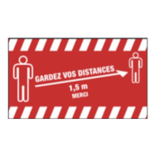 Tapis de distanciation Covid19