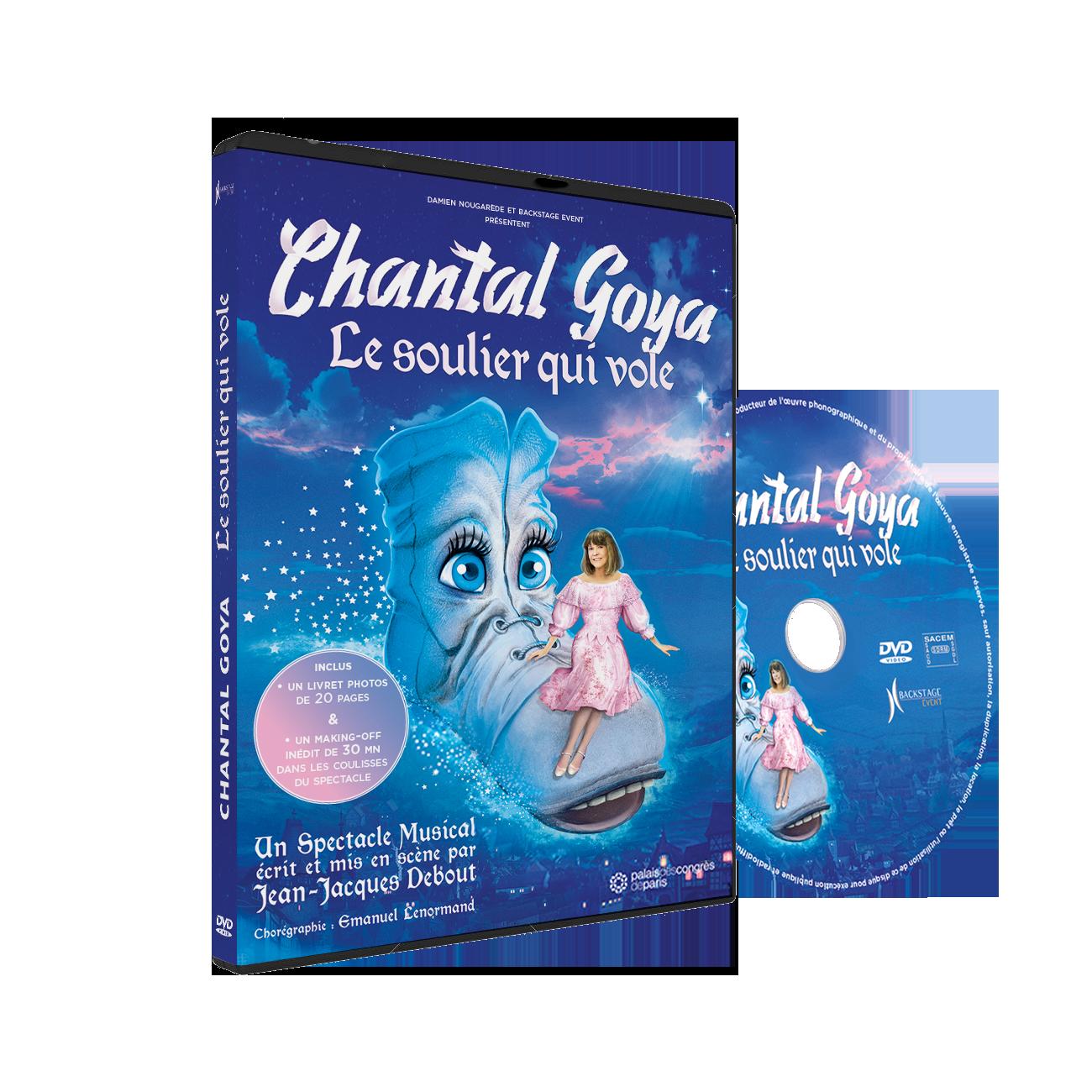 DVD - CHANTAL GOYA - LE SOULIER QUI VOLE