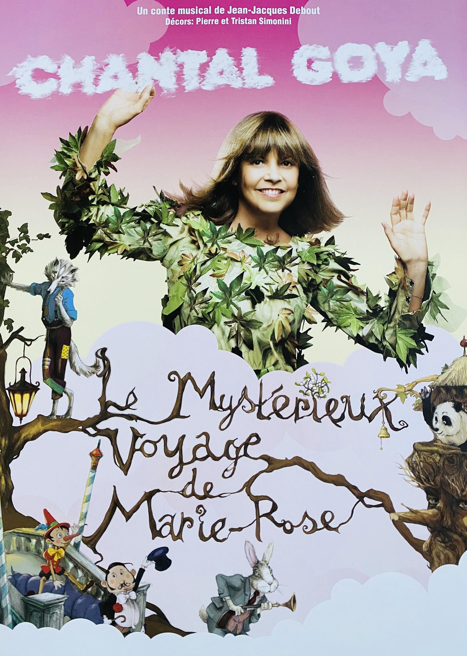 PROGRAMME - LE MYSTÉRIEUX VOYAGE DE MARIE-ROSE