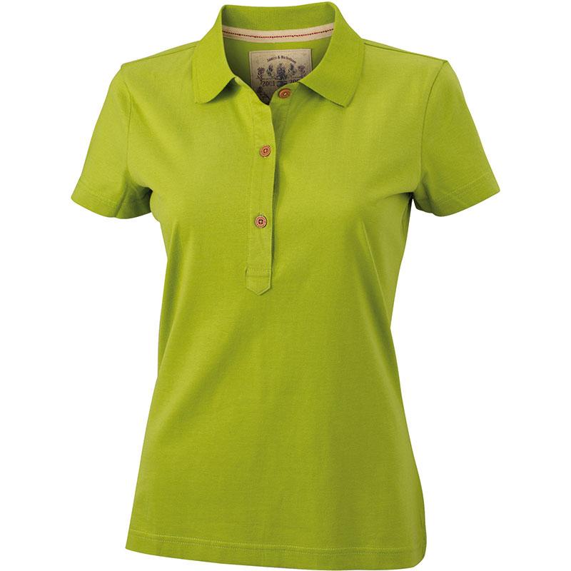Polo-vert-citron-JN940