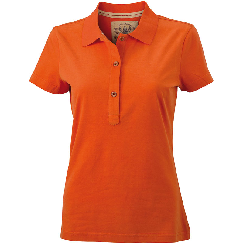 Polo-orange-fonce-JN940