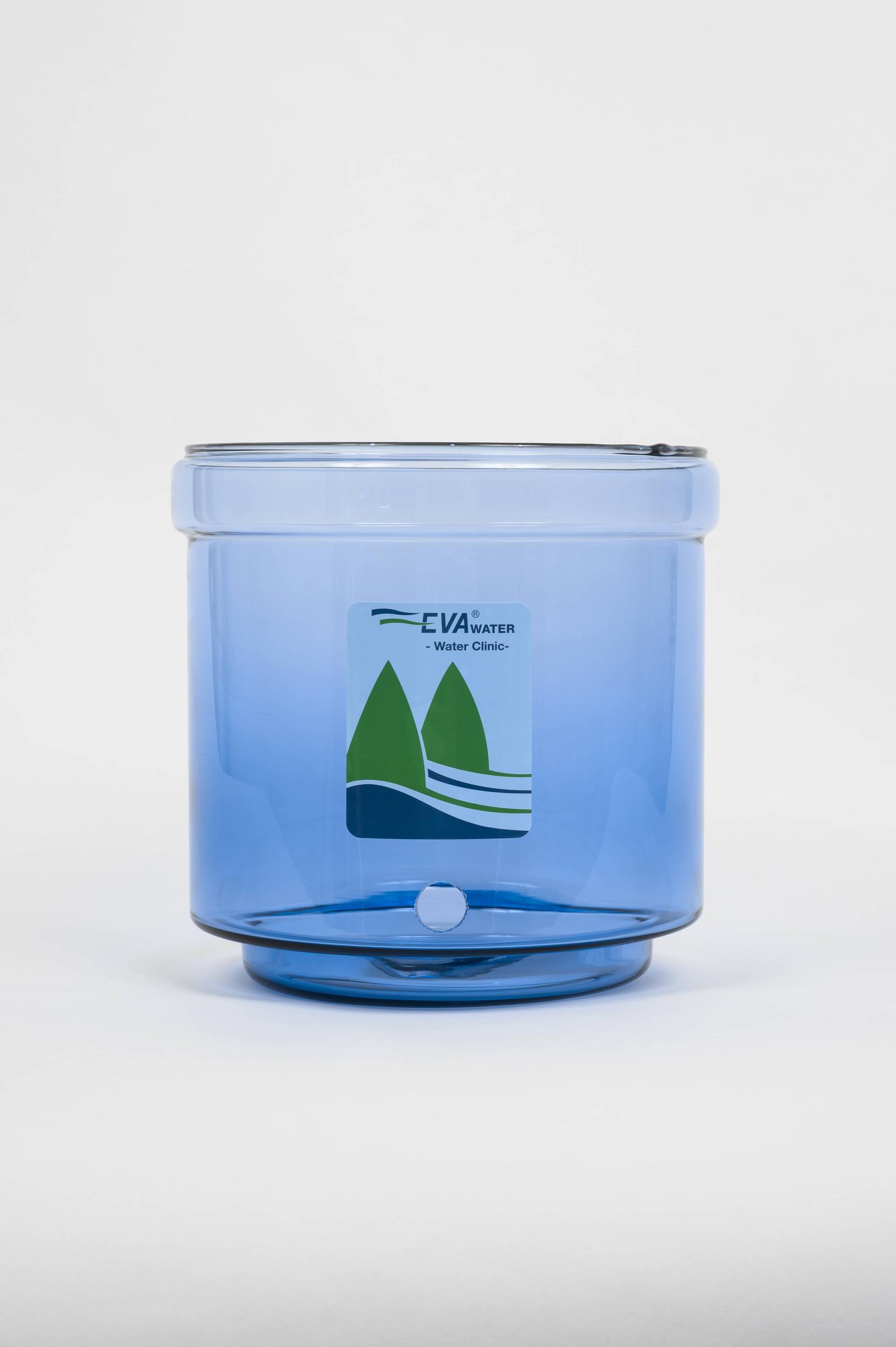 Cuve en verre pour fontaine BEP 7 litres blanche