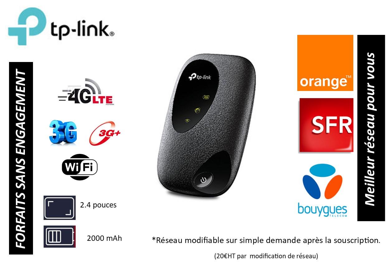 Routeur 4G TP-LINK M7200