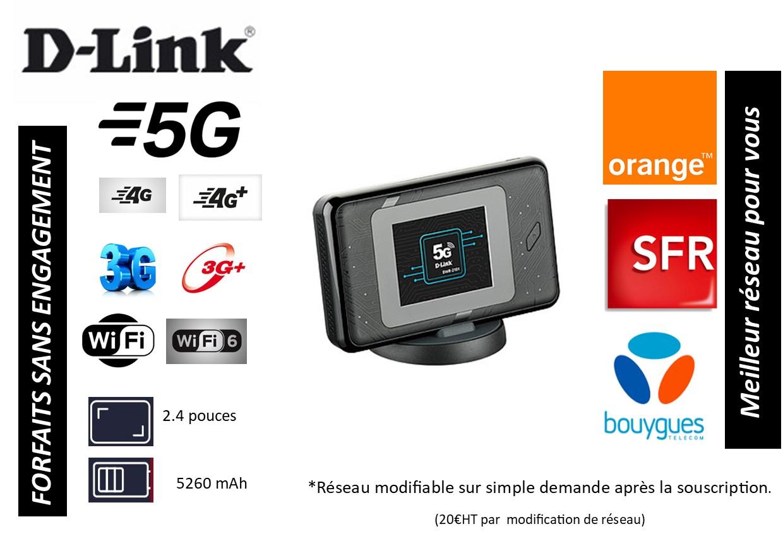 Routeur Wi-Fi 5G D-Link DWR 2101
