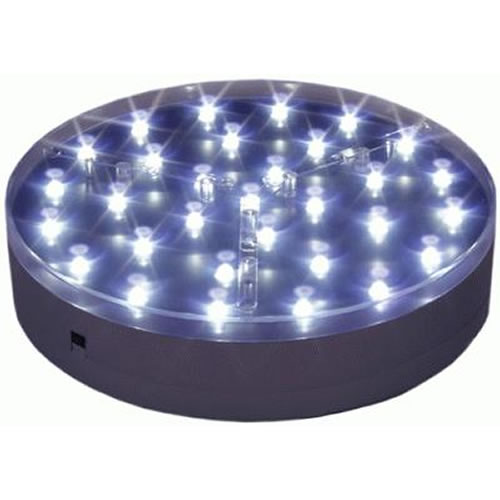 base lumineuse led maxi argentee deco lumineuse. Black Bedroom Furniture Sets. Home Design Ideas