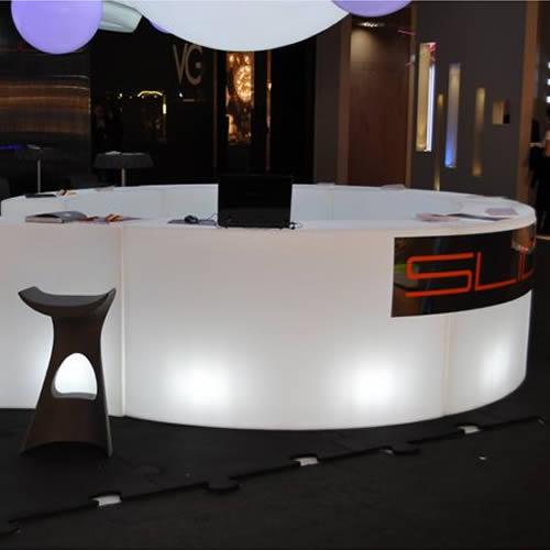 Bar lumineux led design snake deco lumineuse