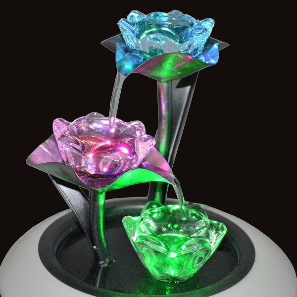 fontaine lumineuse flor a deco lumineuse. Black Bedroom Furniture Sets. Home Design Ideas
