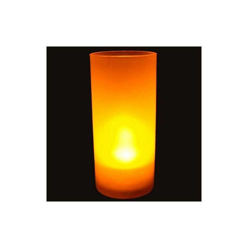 bougie led pile jaune pack de 10 deco lumineuse. Black Bedroom Furniture Sets. Home Design Ideas
