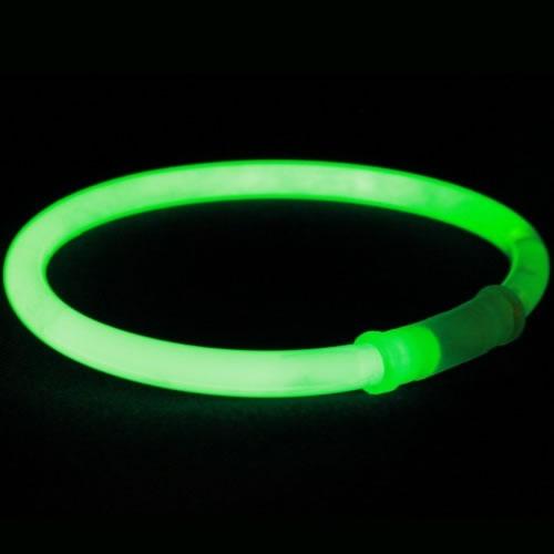 bracelet-fluo-vert vendus sur www.deco-lumineuse.fr