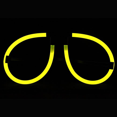 lunettes-fluos jaune vendues sur www.deco-lumineuse.fr