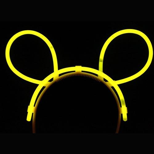 bunny-fluo-jaune vendu sur www.deco-lumineuse.fr